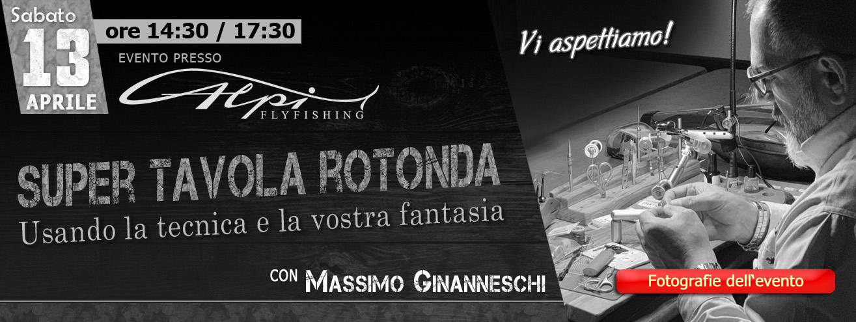 evento Alpiflyfishing con Massimo Ginanneschi sabato 13 aprile