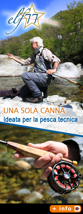 canne ELF alpiflyfishing con Massimo Pulze