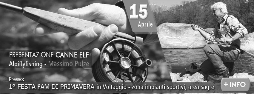 Presentazione canne ELF alpiflyfishing con Massimo Pulze