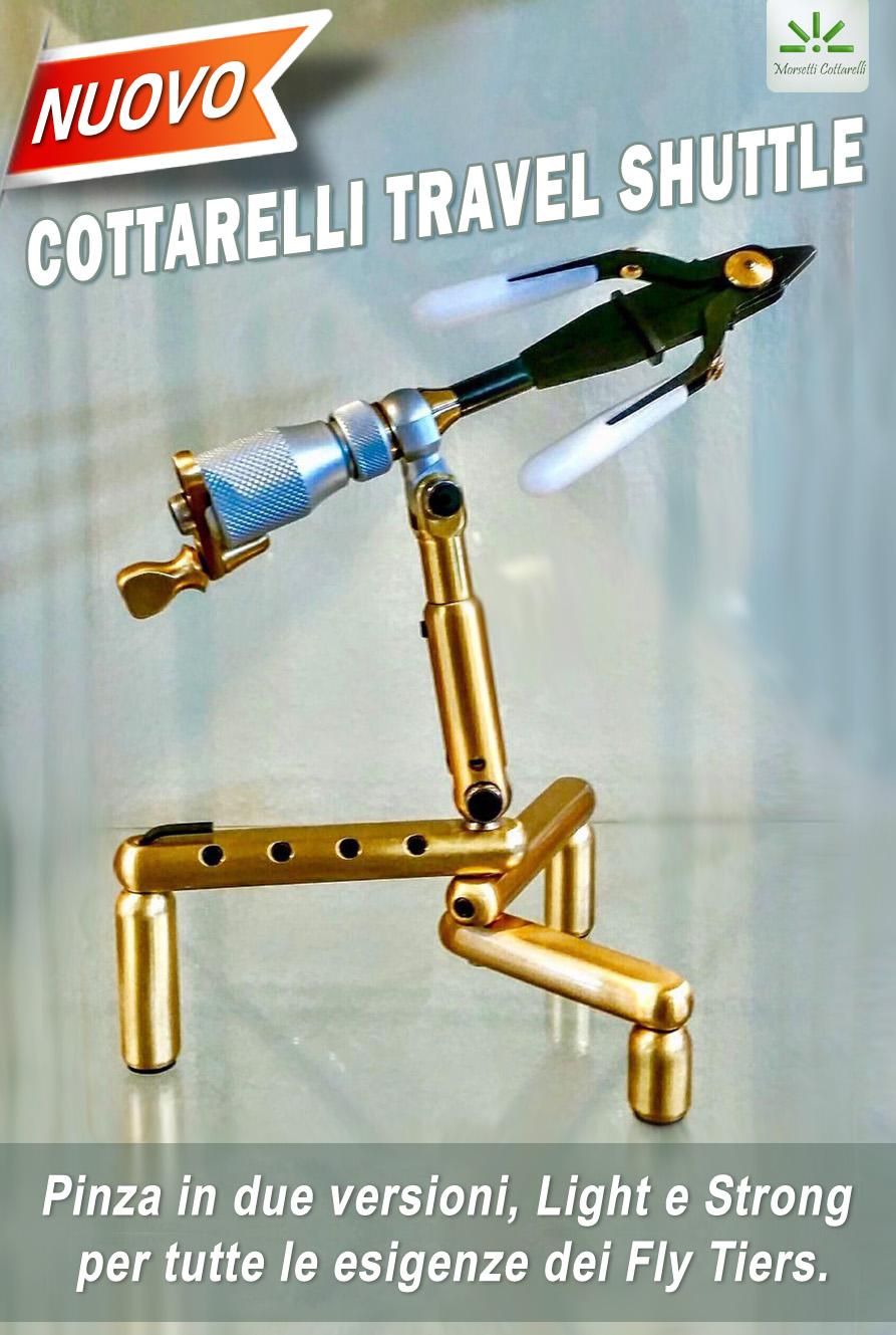 nuovo Cottarelli travel shuttle alpiflyfishing