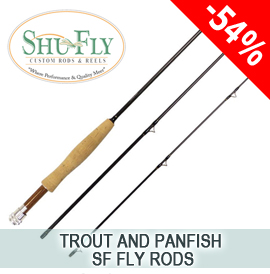 trout and panfish sf fly rods