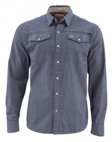 STILLWATER CHAMBRAY SHIRT - NOVITA' 2018